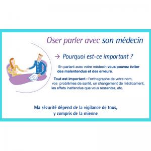 brochure HAS oser parler médecin
