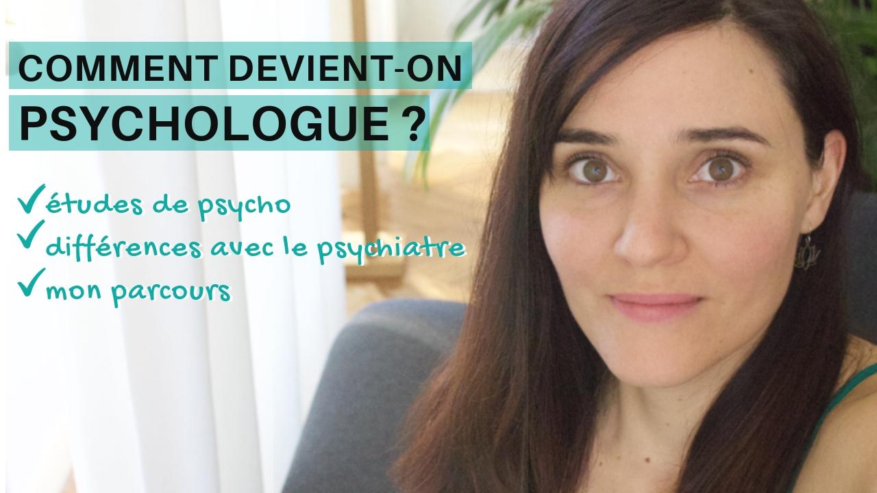 comment devenir psychologue